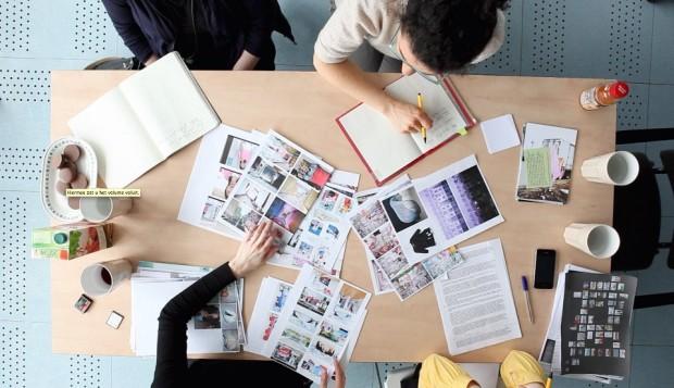 Работа над выставкой голландских фотокниг в Санкт-Петербурге UNDERCOVER / кураторы: Дарья Туминас и Евгения Свещинская