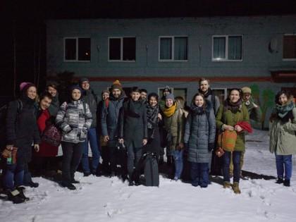 Фотохроника и отзывы об арт-резиденции «Прожить» / февраль 2016