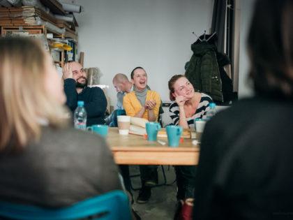 Фотохроника курса Алины Белишкиной «Открытые отношения» для коммерческих фотографов
